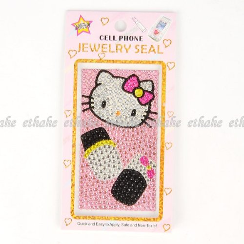 Hello Kitty Shining Mobile Phone Skin Sticker