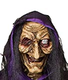 Life Size Animated-Scary Witch-Black Cat-Haunted House Halloween Prop - CFP