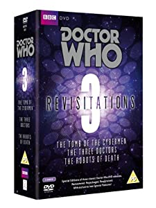 Doctor Who Revisitations 3 (The Tomb of the Cybermen/The Three Doctors/The Robots of Death) [DVD]