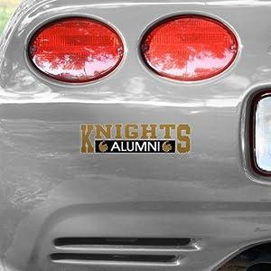 NCAA UCF Knights Alumni Car Decal