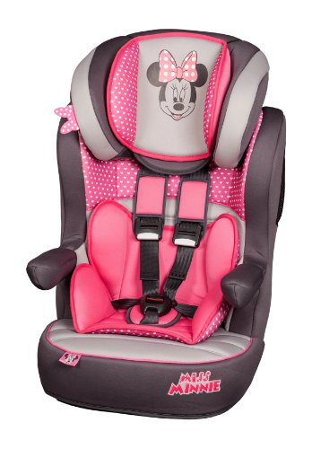 Disney Minnie Mouse Imax SP High Back Booster Seat - Child Car Seats