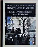 Civil Disobedience and Reading (Classic, 60s) (0146001958) by Thoreau, Henry David
