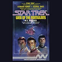 Star Trek: Web of the Romulans (Adapted) Audiobook by M.S. Murdock Narrated by Leonard Nimoy, George Takei