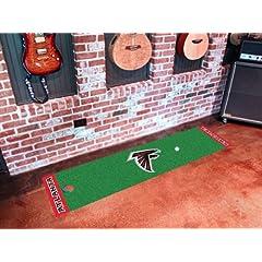 NFL - Atlanta Falcons Golf Putting Green Mat by Fanmats