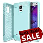 Galaxy Note 4 Case, Obliq [Rugged Slim Fit] Samsung Galaxy Note 4 Case [Flex Pro] [Mint] Premium Soft Anti Shock Protection Jelly Case - Verizon, AT&T, Sprint, T-Mobile, International, and Unlocked - Case for Samsung Galaxy Note 4 IV SM-N910S Late 2014 Model