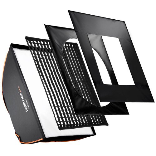 walimex pro 80x120cm Aurora/Bowens Softbox PLUS - Orange Line