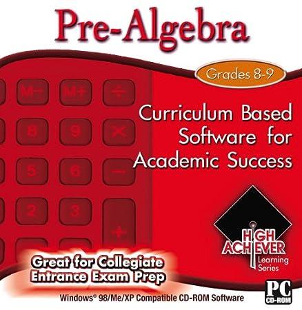 High Achiever Pre Algebra
