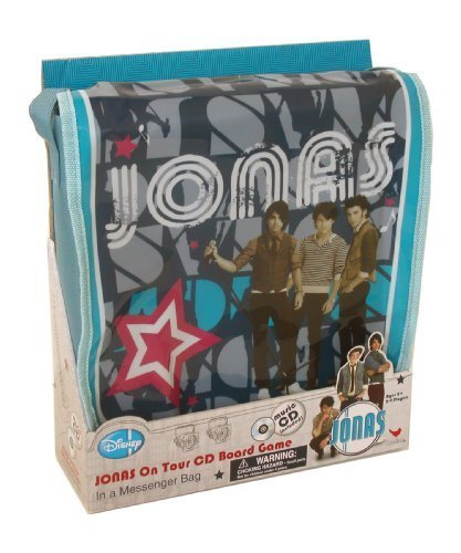 Jonas Brothers CD Board Game in Messenger Bag by Cardinal