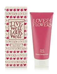 Emma Bridgewater Love & Flowers Body Wash 200ml