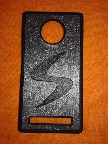 micromax yu yuphoria back cover (black in gray)