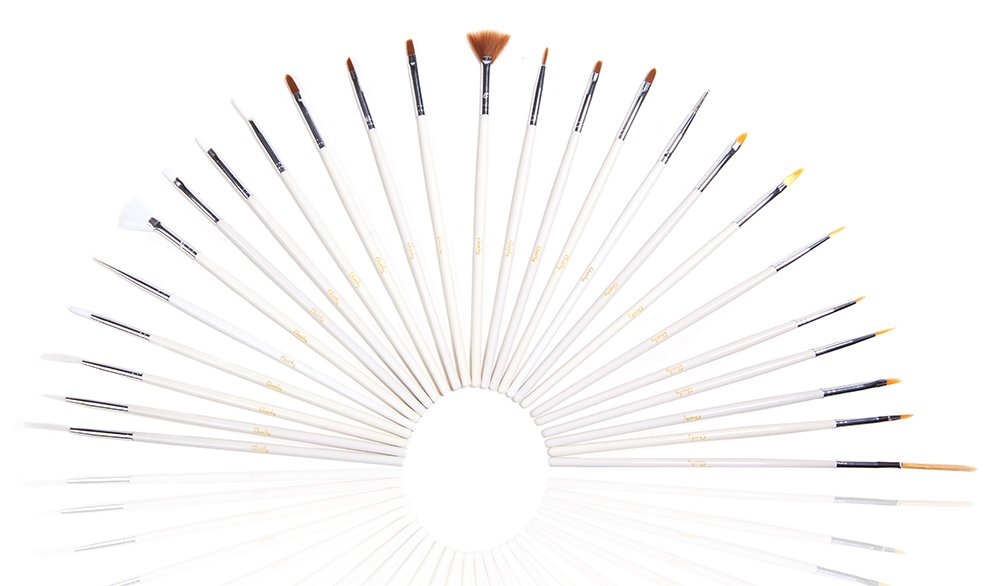 Professional Nail Art Brush Set Kit ...
