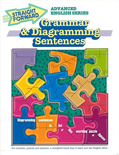 Grammar & Diagramming Sentences (Advanced Straight Forward English Series) (English Grammar Sentence Diagram compare prices)