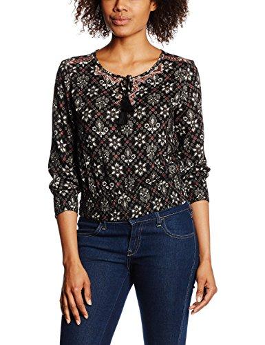 ONLY Damen Bluse  - Camicia Donna, multicolore (aop:Print 3), taglia 42