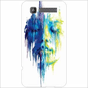 Intex Cloud Y11 Back Cover - Silicon Two Flowers Designer Cases