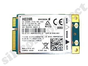 DELL WIRELESS 5540 WWAN Mobile Broadband MiniPCI Express Mini-Card HSDPA GPS P/N: H039R , Ericsson  F3607gw