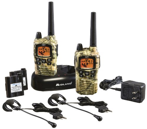 Midland GXT895VP4 42-Channel Mossy Oak Camo GMRS with NOAA Weather Alert and 36-Mile Range