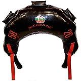 Bulgarian Bag - New Black PVC - Suples - The Original (Fitness, Crossfit, Wrestling, Judo, Grappling, Functional Training, MMA, Sandbag, Training Bag, Weighted Bag, Weight Bag) (58)