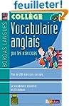 Bordas langues : Vocabulaire anglais...