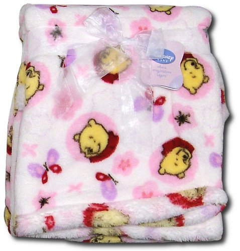 How to get Disney Baby Winnie the Pooh Printed Boa Blanket – Girl online