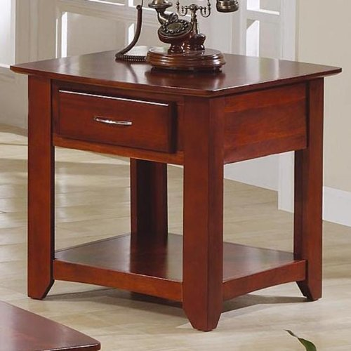 Cheap Hildon End Table by Home Line Furniture (B003NGDG18)