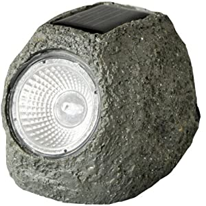 Rock solar lights outdoor