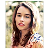 Emilia Clarke Autographed Sunlight Kiss Photo: 8x10