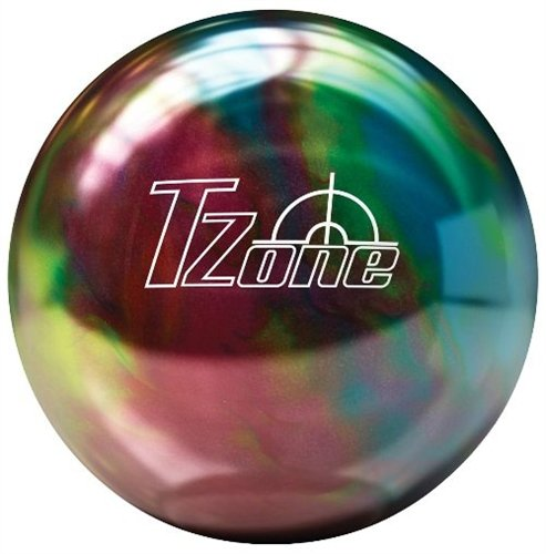 Brunswick TZone Rainbow Twist Bowling Ball (10-Pounds)