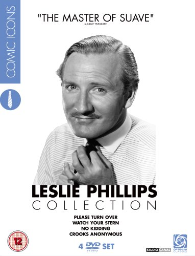 Leslie Phillips Collection - Comic Icons [DVD]