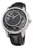 Maurice Lacroix Men's PT6218-TT031330 Pontos Decentrique Phases De Lune Black Moonphase Dial Watch from Maurice Lacroix