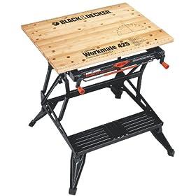 Black & Decker WM425 Workmate 425 550-Pound Capacity Portable Work Bench