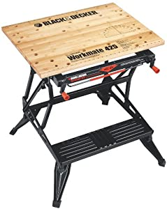 Black & Decker WM425 Workmate 425 550-Pound Capacity Portable Workbench