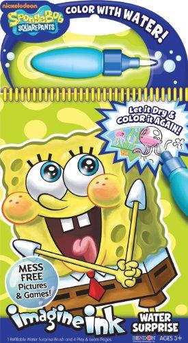 Bendon Sponge Bob Imagine Ink Water Surprise Book