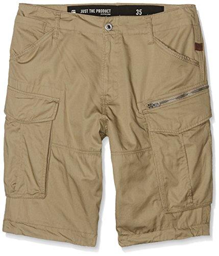 G-Star Rovic zip 1/2-Shorts Uomo, Beige (Dune 239), 48