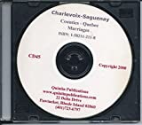 img - for CD: Charlevoix-Saguenay Marriages, 1732-1970--{In French} book / textbook / text book