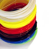 Light House Filament for 3D Printing Pen and Printer, 12 Colors Including Glow in the Dark, 400 ft of *NON TOXIC* PLA 1.75 mm - Great Value Pack - Satisfaction Guaranteed!