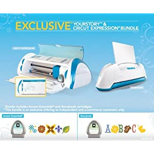 Provo Craft 8000013 Cricut Expression and YourStory Combination Set