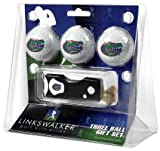 Florida Gators 3 Golf Ball Gift Pack with Spring Action Tool