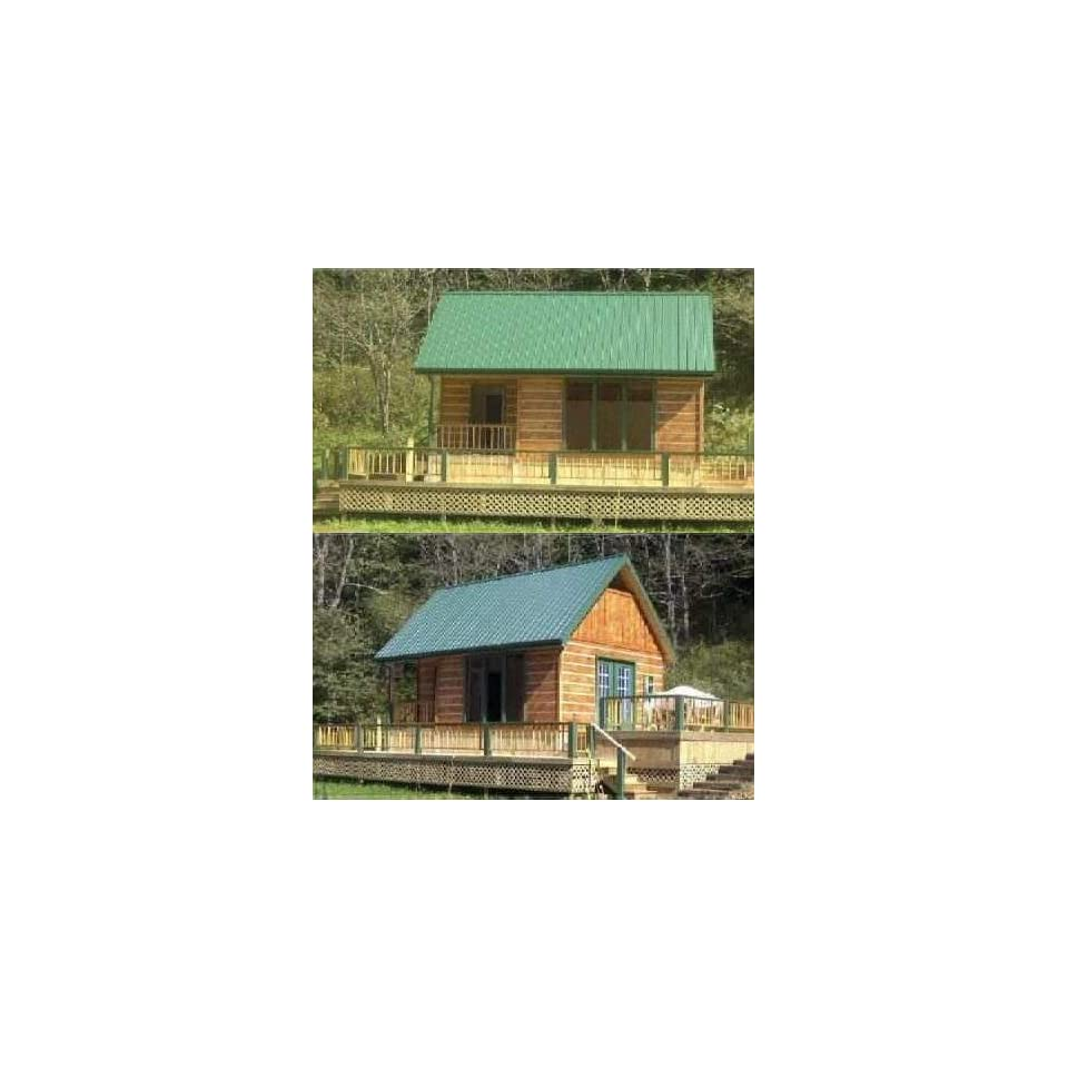 Log cabin blueprints 16x24 joy studio design gallery for Log cabin architecture