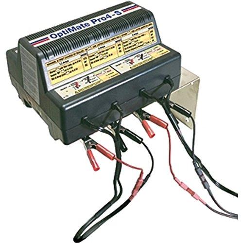 TECMATE OPTIMATE PRO 4 S Verwendbar f. Standard, MF und Gel-Batterien. 10107-00