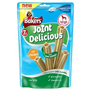 Bakers Joint Delicious Chicken for Large Dogs 240 g (Pack of 6)