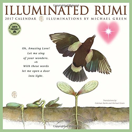 The Illuminated Rumi 2017 Wall Calendar
