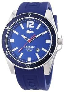 Lacoste Herren-Armbanduhr XL Analog Quarz Silikon 2010665
