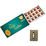 CHOCOLATE GIFT BOX, RAKHI FOR BROTHER, UNIQUE RAKHI DESIGN, CHOCOLATE WITH RAKHI, DARK CHOCOLATE, RAKHI GIFTS,...