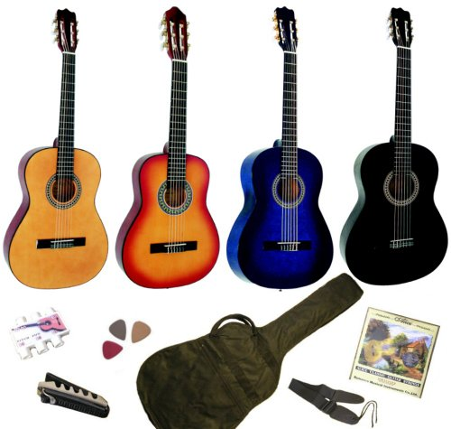 pack guitare classique 3 4 8 13ans pour enfant avec 6. Black Bedroom Furniture Sets. Home Design Ideas