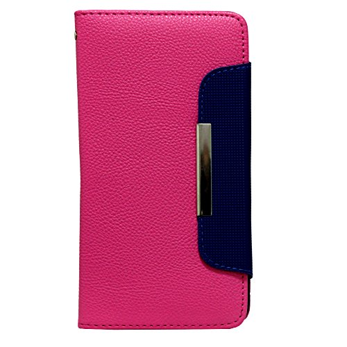Jo Jo  Z Series Magnetic High Quality Universal Phone Flip Case Cover Stand For  Htc Desire 816G Dual Sim Exotic Pink Blue