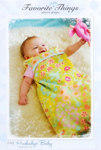 Favortie Things Hushabye Baby Sleep Sack Pattern front-84283