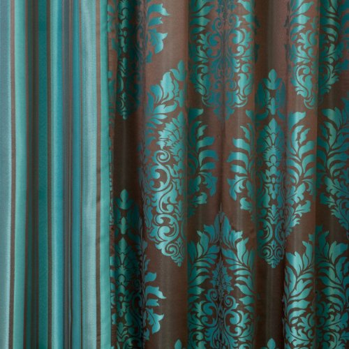 Small Curtains For Bathroom Windows Teal and Taupe Curtains