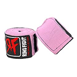 Ring Fight Pink Hand Wrap 180