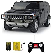 Toyzstation Racer R-C Rechargeable 1:24 Hummer H2 Suv Black
