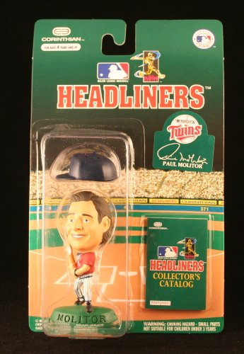 Paul Molitor MLB Headliners Action Figure